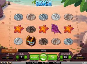 Beach slotmaskinen SS 4