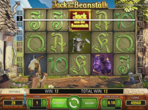 Jack and the beanstulk slotmaskinen SS 2