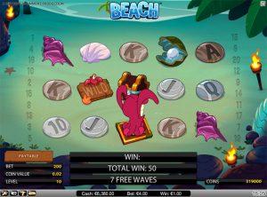 Beach slotmaskinen SS 3