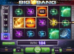 Big Bang slotmaskinen SS 3