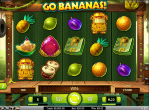 Go Bananas slotmaskinen SS