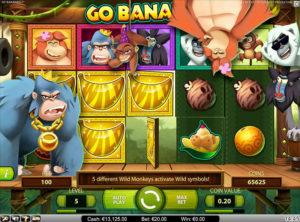Go Bananas slotmaskinen SS 2