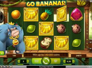 Go Bananas slotmaskinen SS 4