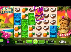 Aloha! Cluster Pays slotmaskinen SS-03