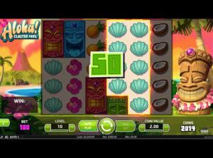 Aloha! Cluster Pays slotmaskinen SS-05