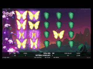 Butterfly Staxx slotmaskinen SS-02