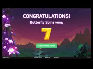 Butterfly Staxx slotmaskinen SS-04