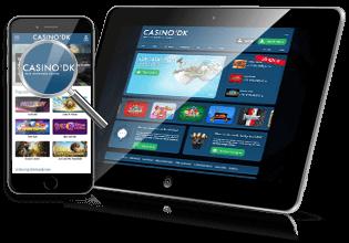 Spil på mobil & tablet hos Casino.dk