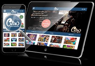 CasinoAndFriends.dk mobil casino