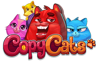 Copy Cats NetEnt game logo
