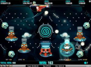 Cosmic-Fortune slotmaskinen SS 4