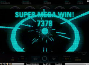 Cosmic-Fortune slotmaskinen SS 6