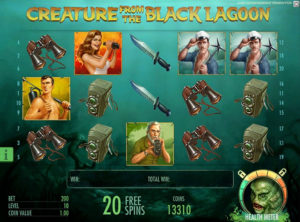 Creature From the Black Lagoon slotmaskinen SS-06