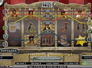 Dead Or Alive Slotmaskinen SS 2