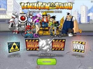 Demolition Squad slotmaskinen SS-04
