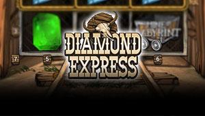 Diamond Express Spilleautomaten - Her kan du spiller
