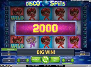 Disco Spins slotmaskinen SS 3