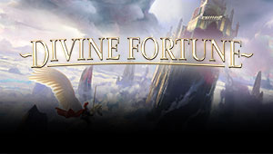 Her kan du spille Divine Fortune slotmaskinen