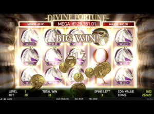 Divine Fortune slotmaskinen SS-03