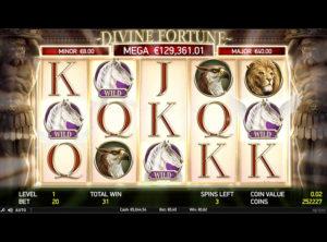 Divine Fortune slotmaskinen SS-04