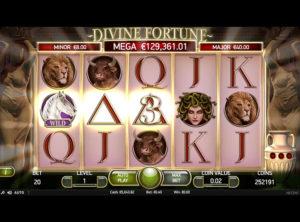 Divine Fortune slotmaskinen SS-07