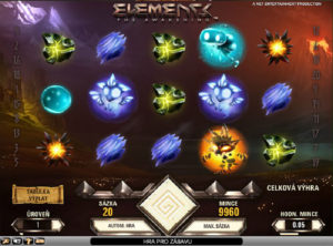 Elements slotmaskinen SS-02
