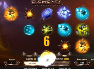 Elements slotmaskinen SS-04
