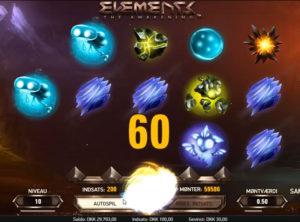 Elements slotmaskinen SS-05