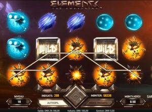 Elements slotmaskinen SS-08
