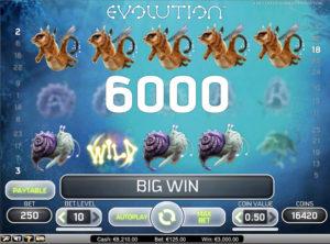 Evolution slotmaskinen SS-03
