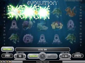 Evolution slotmaskinen SS-04