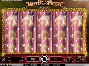 Fantasini Master of Mystery slotmaskinen SS 4