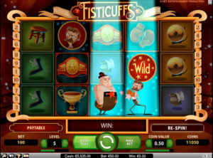 Fisticuffs slotmaskinen SS-02