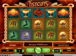 Fisticuffs slotmaskinen SS-04