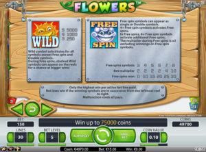 Flowers slotmaskinen SS-04