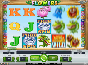 Flowers slotmaskinen SS-05
