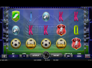 Football Champions Cup slotmaskinen SS 1