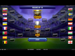Football Champions Cup slotmaskinen SS 5