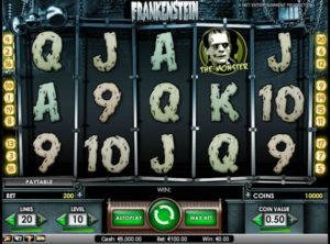 Frankenstein slotmaskinen SS-02