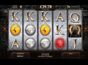 Game Of Thrones Slot - Screenshot