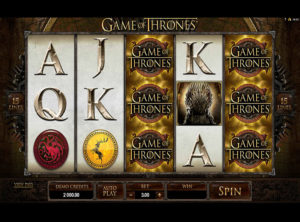 Game Of Thrones Slot - Screenshot 4