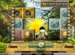 Gonzo's Quest slotmaskinen SS 1