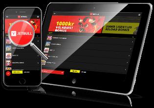 JetBull Casino mobilspil