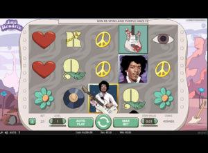 Jimi Hendrix slotmaskinen SS-02