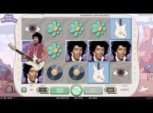 Jimi Hendrix slotmaskinen SS-03