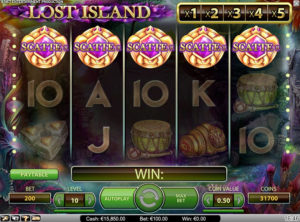 Lost Island slotmaskinen SS-05