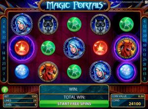 Magic Portals slotmaskinen SS-01