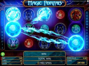 Magic Portals slotmaskinen SS-02
