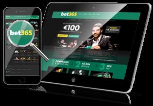 Spil på mobil & tablet hos Bet365 Casino