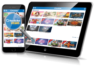 Spil på mobil & table hos NordicBet Casino